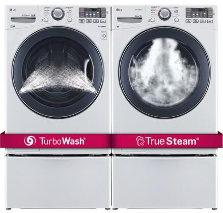 LG LG4PCFL27G2PEDWKIT8 Washer and Dryer Combos