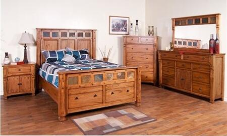 Sunny Designs 2322ROKBDMN Sedona King Bedroom Sets