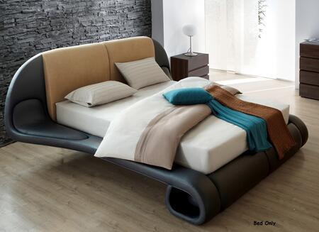 VIG Furniture VGSLESIENNA Modrest Sienna Modern Leather Bed