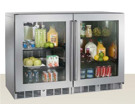 Perlick HP48RRS3L3R Signature Series Counter Depth Side by Side Refrigerator with 12.0 cu. ft. Capacity