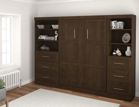 "Bestar Furniture 26890 Pur by Bestar 120"" Full Wall bed kit"