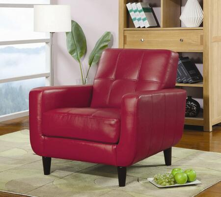 Coaster 900206  Leather Like Vinyl Accent Chair
