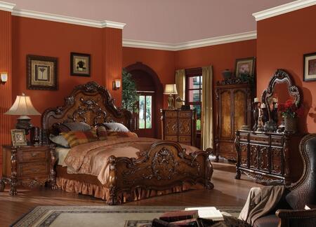 Acme Furniture 12134CKBDMN Dresden California King Bedroom S