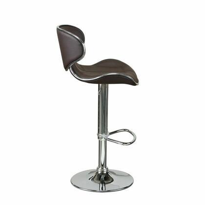 Diamond Sofa 972C Residential PVC Upholstered Bar Stool