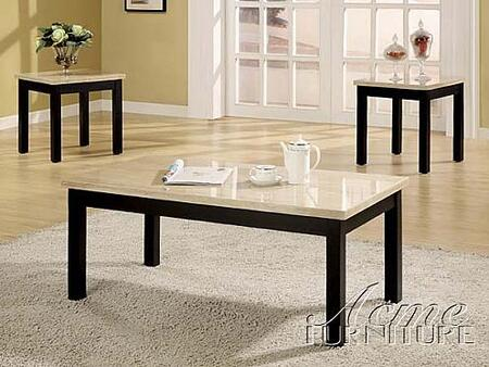 "Acme Furniture 16787A 42"" Transitional Living Room Table Set"