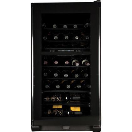 """Haier HVFE040BBB 19.94"""" Wine Cooler, in Black"""