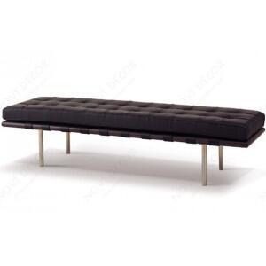 Fine Mod Imports FMI4005-3 Pavilion 3-Seater Leather Bench: