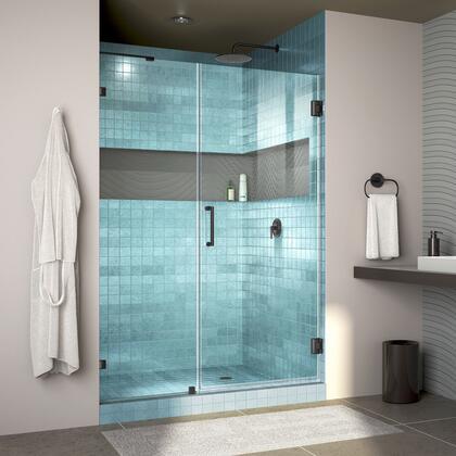 DreamLine Unidoor Lux Shower Door RS30 30D 22IP 09 Blue Tile