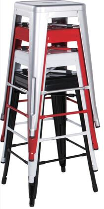 Chintaly 8015BSCOP4SET 8015 Bar Stools