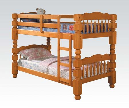 Acme Furniture 02575C Benji Series  Twin Size Bunk Bed