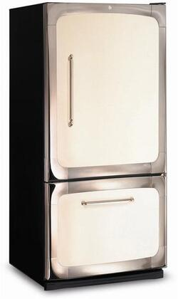 Heartland 311500RWHT Classic Series White Counter Depth Bottom Freezer Refrigerator with 20 cu. ft. Capacity