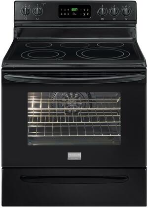 Frigidaire FGEF3032MB Gallery Series Electric Freestanding  Appliances Connection