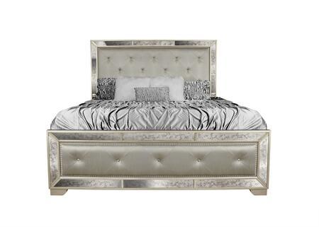 Myco Furniture MA191K Madi Series  King Size Panel Bed