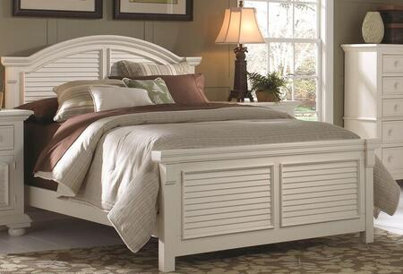 American Woodcrafters 651050PAN  Queen Size Panel Bed