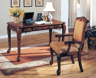 Yuan Tai 7130 Agatha Series Writing Desk with Arm Chair  Desk