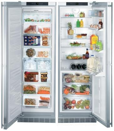Liebherr SBS243 Side-By-Side Refrigerators