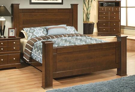 Sandberg 338C Kendra Series  King Size Poster Bed