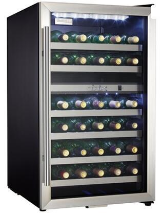 "Danby DWC114BLSDD 19.44"" Freestanding Wine Cooler  Appliances Connection"