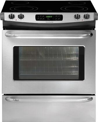 Frigidaire FFES3027LS  Slide-in Electric Range with Smoothtop Cooktop Storage 4.2 cu. ft. Primary Oven Capacity