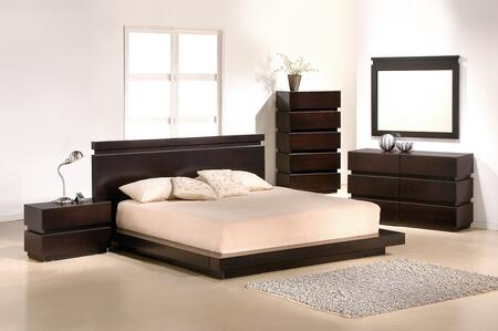 JandM Furniture Knotch Platform Bedroom Collection JMFU1323