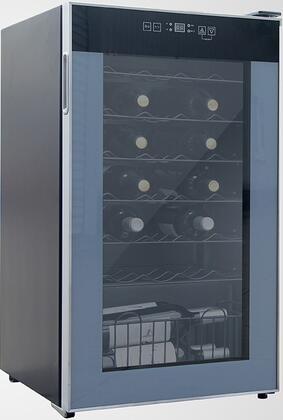 """Avanti WC34T2P 19.25"""" Freestanding Wine Cooler, in Platinum"""