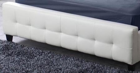 Diamond Sofa ZENBEDEKINGFB Bonded Leather King Size Footboard: