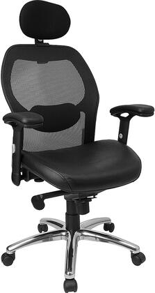 """Flash Furniture LFW42LHRGG 27.25"""" Contemporary Office Chair"""