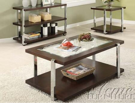 Acme Furniture 80037 Jae Series Contemporary  End Table