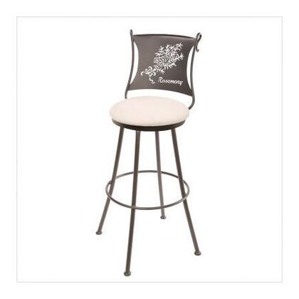 Stone County Ironworks 902771LHRLTN Rosemary Series  Bar Stool |Appliances Connection
