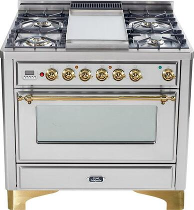 Ilve UM906VGGIS Majestic Series Gas Freestanding