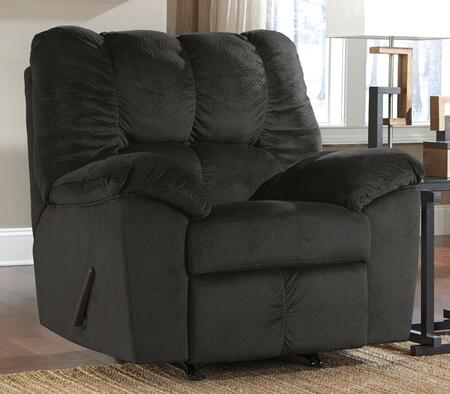 Signature Design by Ashley Julson 2660X25 Rocker Recliner with Plush Padded Arms, Divided Back Cushion and Metal Drop-In Unitized Seat Box Construction in