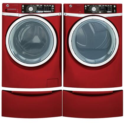 GE GHWS3605FRRPEDPAIR1 Washer and Dryer Combos