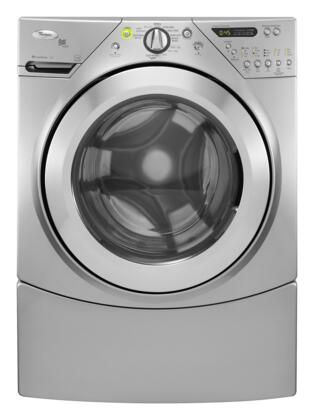 Whirlpool WFW9550WL Duet Steam Series 3.8 cu. ft. Front Load Washer, in Silver