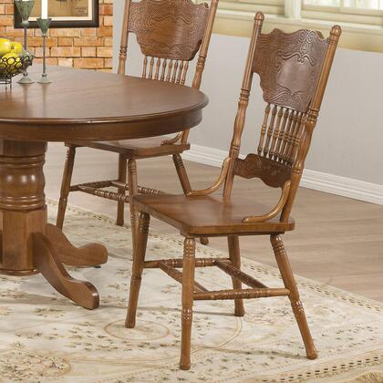 Coaster 104262 Brooks Series Traditional Not Upholstered Wood Frame Dining Room Chair
