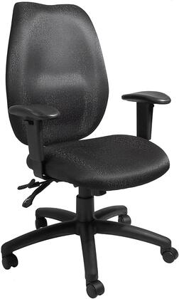 "Boss B1002BK 30.5"" Adjustable Contemporary Office Chair"