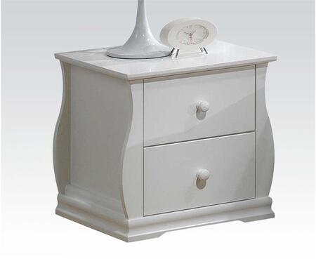 Acme Furniture 30104 Nebo Series Square Night Stand Appliances Connection