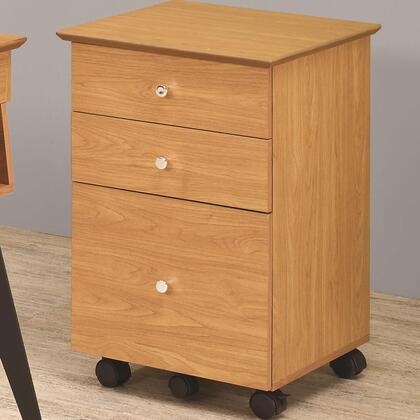"""Coaster 801054 20"""" Wood Contemporary File Cabinet"""