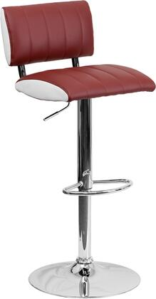 Flash Furniture CH122150BURGGG Residential Vinyl Upholstered Bar Stool