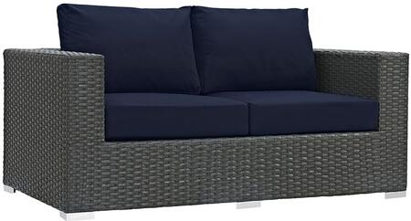 Modway EEI1851CHCNAV  Patio Love Seat