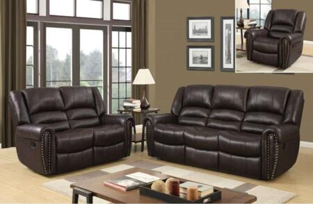 Global Furniture U98782QPU080RSRLSGR U98782 Living Room Sets