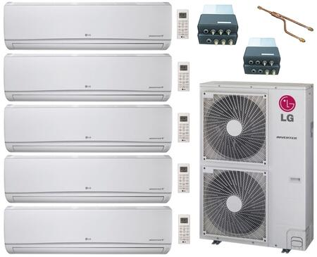 LG 705450 5-Zone Mini Split Air Conditioners