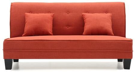 Glory Furniture G405S Newbury Series Fabric Stationary Loveseat