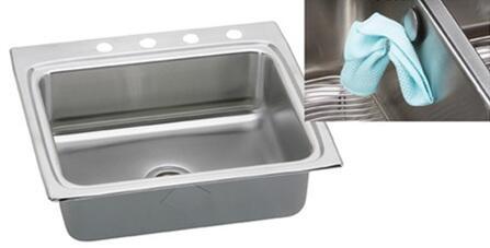 Elkay LR2522EK Gourmet e-Dock Sink: