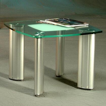 Chintaly TRACYLT Tracy Series Modern Square End Table