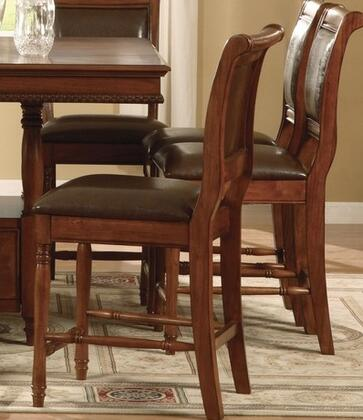 Legends Furniture ZJC8001PCN Cambridge Series Residential Leather Upholstered Bar Stool
