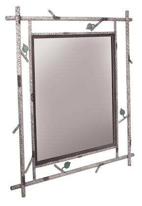 Stone County Ironworks 930816LRG  Rectangular Portrait Wall Mirror