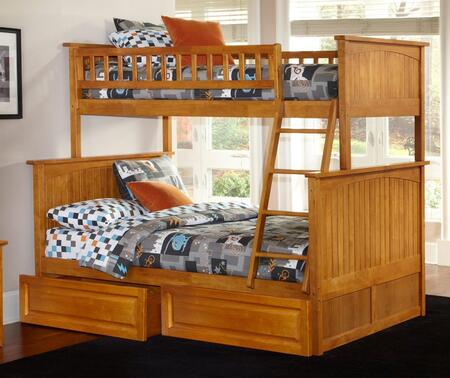 Atlantic Furniture AB59227  Twin over Full Size Bunk Bed