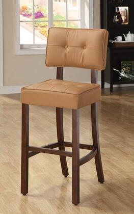 Acme Furniture 10080 Ezrela Series Fabric Upholstered Bar Stool