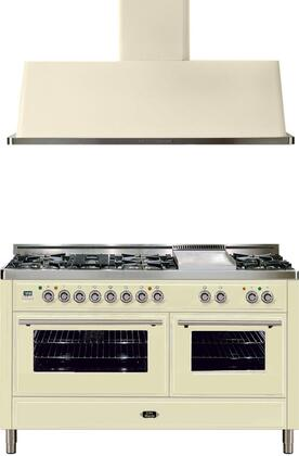 Ilve 721653 Majestic Techno Kitchen Appliance Packages