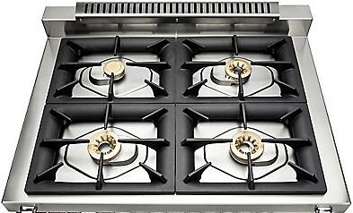 """Viking TVDR3604B 36"""" Tuscany Series Professional Dual Fuel Range with 4 Sealed Burners, Storage Drawer, Electronic Spark Ignition and Porcelain Coated Cast Iron Grates:"""